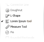 Lorem Ipsum tool