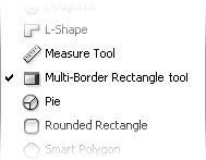 Multi-Border Rectangle tool